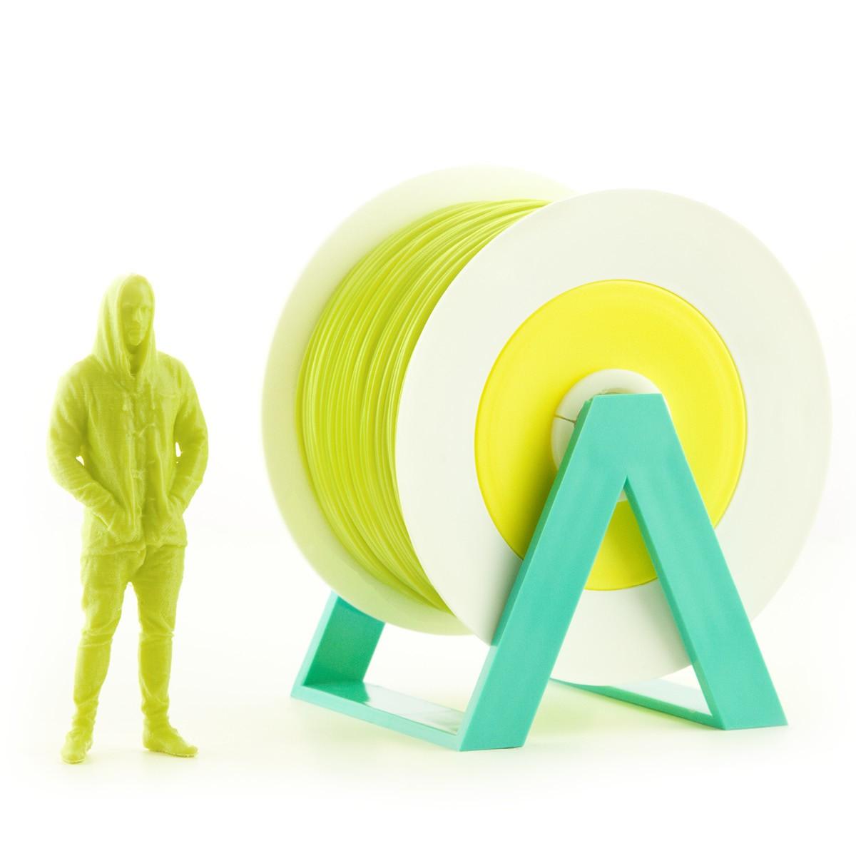Filamento PLA da EuMakers green de 1Kg