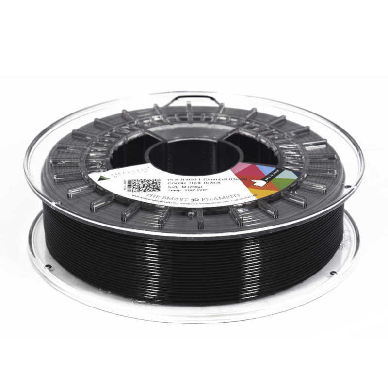 Filamento Smartfil PLA 1.75 TRUE BLACK M