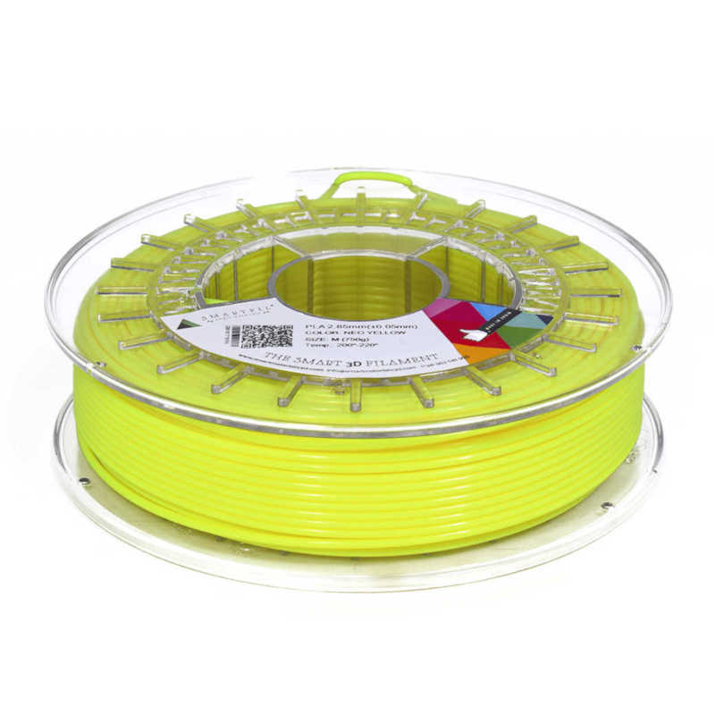 Filamento Smartfil neo yellow 2,85mm 750gr